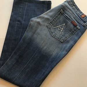 👖7 For All Man Kind Jeans - Size 28